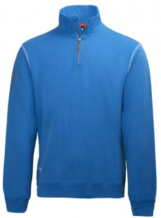 Mikina OXFORD HZ SWEATER-racer blue